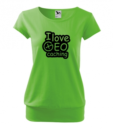 I love geo city apple green